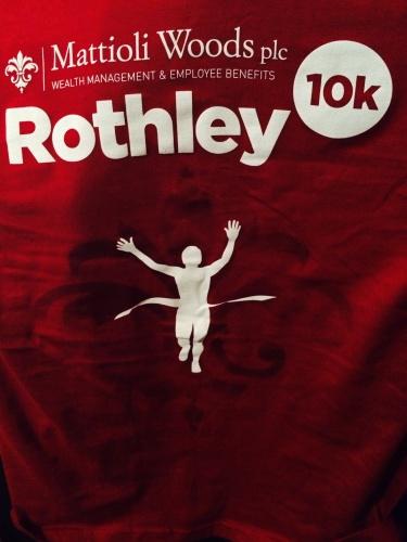 Rothley 10K 2014 Finishers Tee
