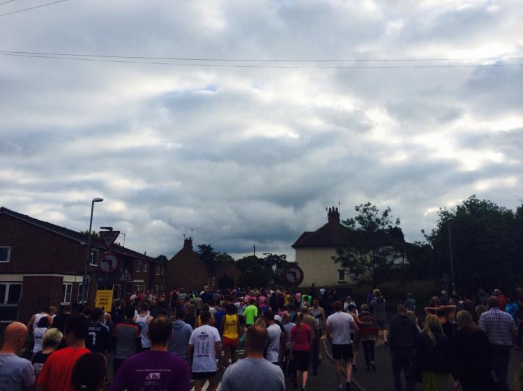 Rothley 10K start line